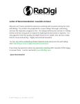 ReDigi Letter of Recommendation
