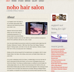 About NoHo Hair Salon by Casandra Armour