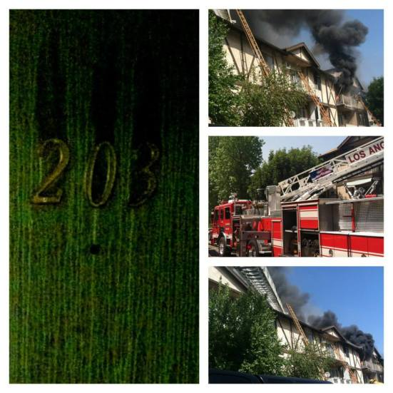 On April 22 Our Apartment Building Caught On Fire