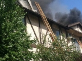 On April 22 Our Apartment Building Caught OnFire